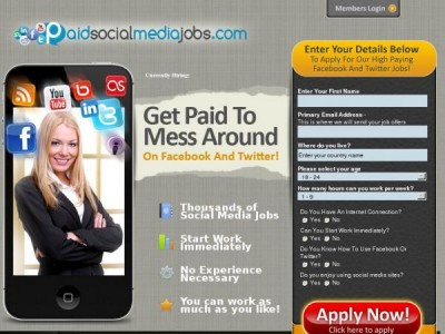 Paid Social Media Jobs Fast Track Job Program Homepage