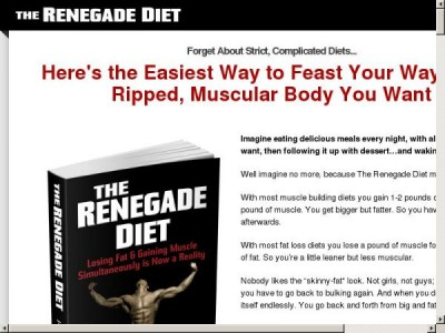 The Renegade Diet, Renegade Cardio, Renegade Strong & Recipe Guide Homepage