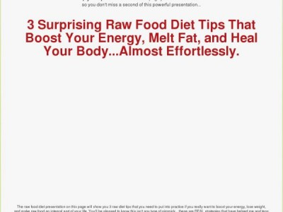 The ultimateenergydiet.com - Eating for Energy Homepage